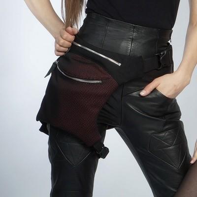 Сумка на бедро текстильная/ Textile Legbag