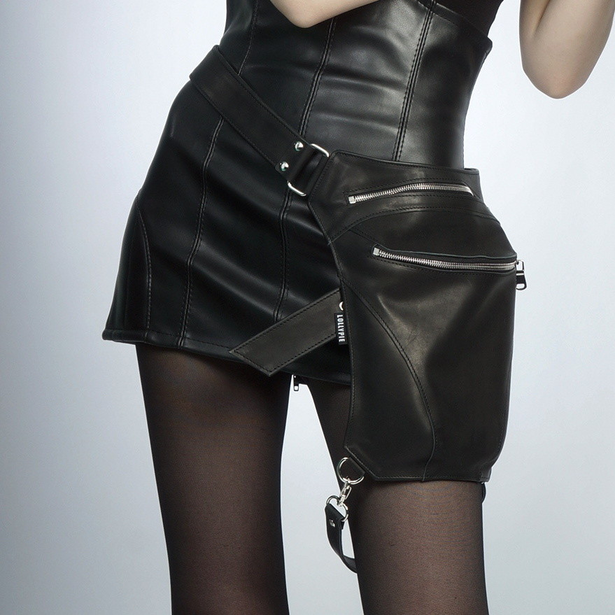 Leather Legbag