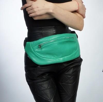 Leather Belt Bum Bag