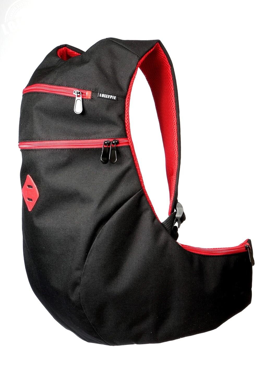 Black Red Anatomic Backpack