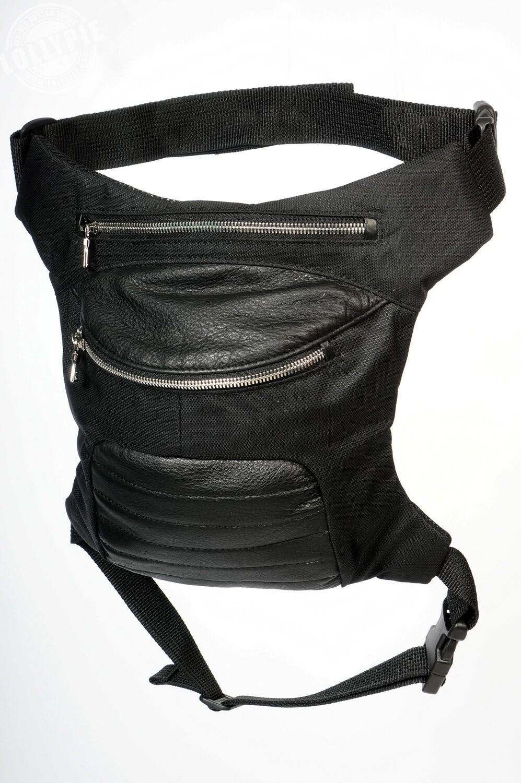 Leather-Textile Legbag