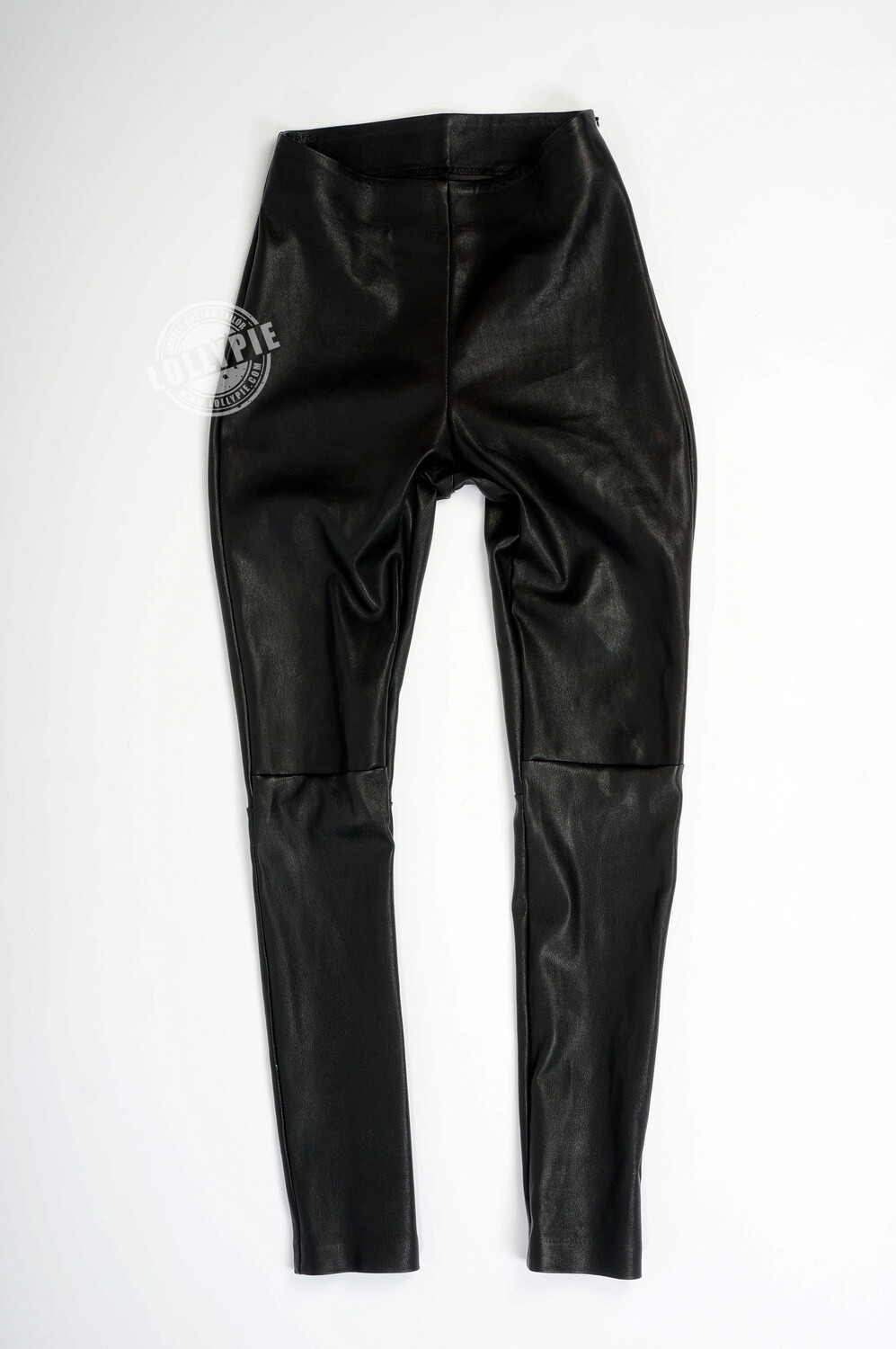 Leggings Genuine Stretch Leather