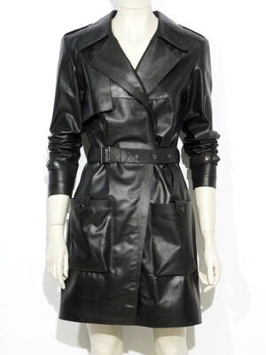 Coat Genuine Cow Leather