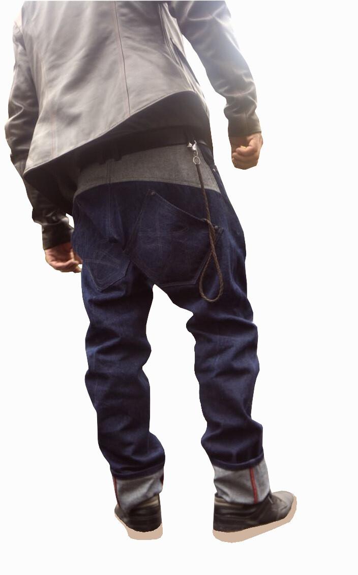 Примеры пошива мужских джинс