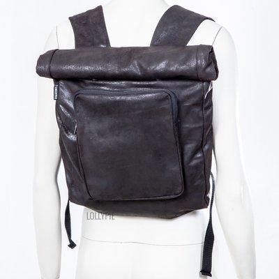 Рюкзак-скрутка коричневый
