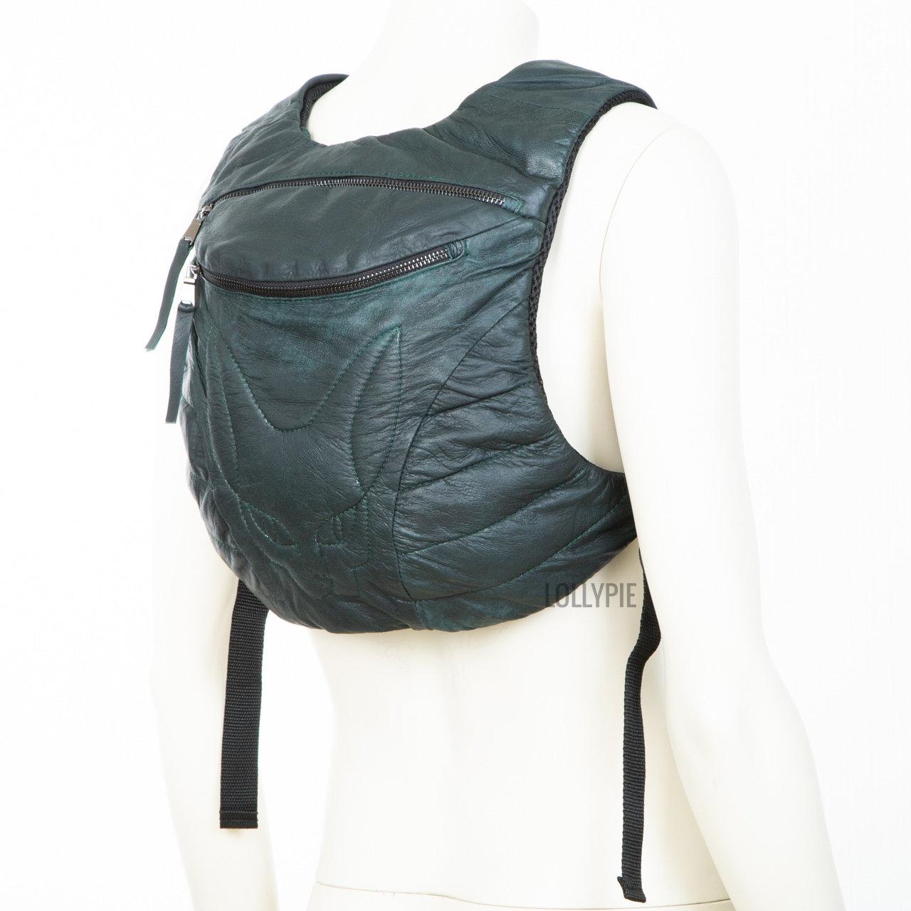 Рюкзак кожаный матовый