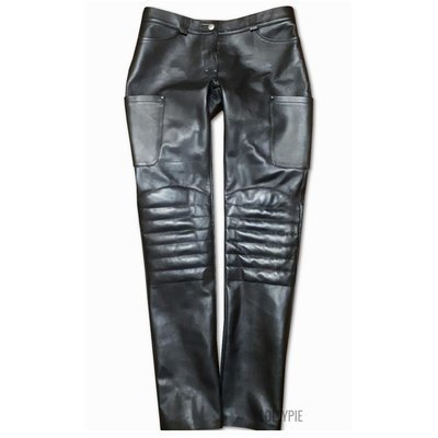 Pants Leather Straight