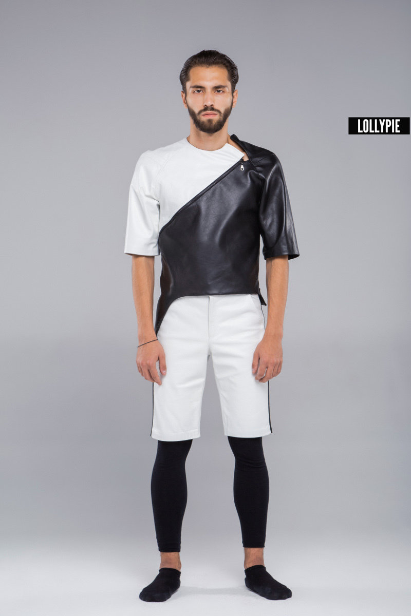 Куртка кожаная Leather Jacket
