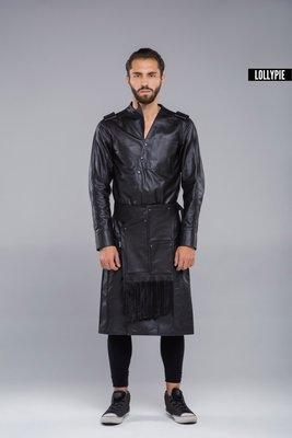 Плащ кожаный Leather Coat