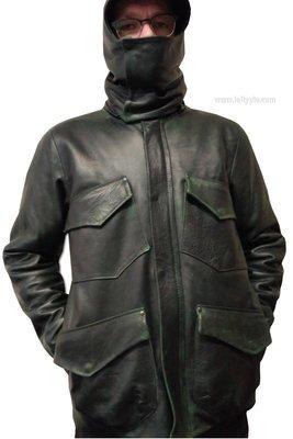 Кожаная куртка м65 Leather Jacket