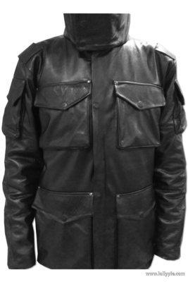 Кожаная куртка м65