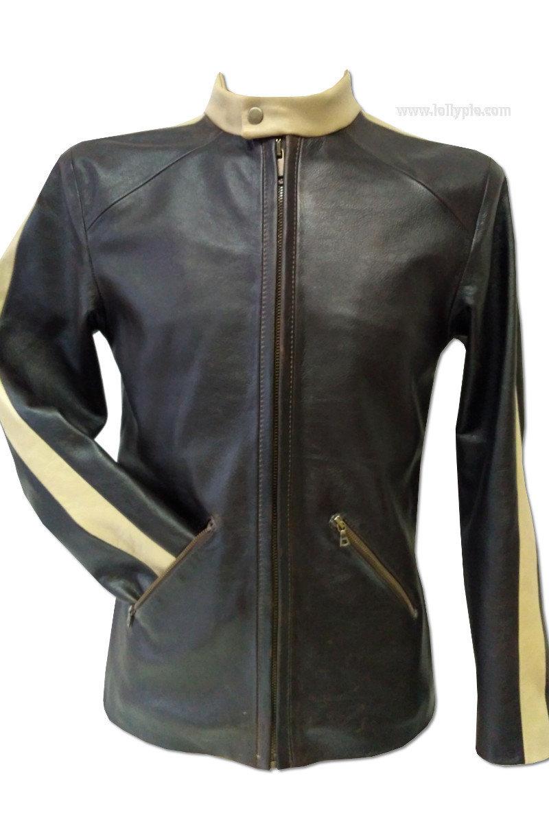 Кожаная куртка мужская Leather Jacket