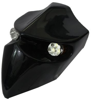 Devil Type-1 Headlamp - Universal - Gloss Black