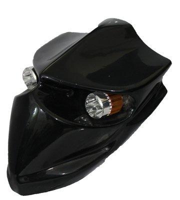 Devil Type-2 Headlamp - Universal - Gloss Black