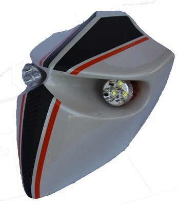 Devil Type-1 Headlamp - Universal - Custom Apache White