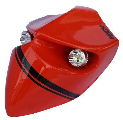 Devil Type-1 Headlamp - Universal - Custom KTM Orange