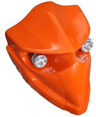 Devil Type-2 Headlamp - Universal - KTM Orange