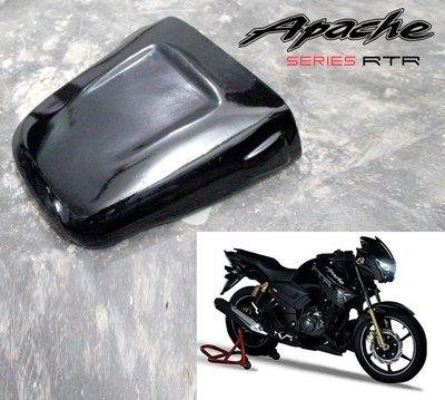Dragster Pillion Seat Cowl for TVS Apache 160/180 - Plug N Play - Gloss Black