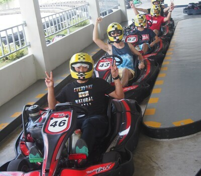 快速卡丁车 (4次) - Fast Kart (4 races)