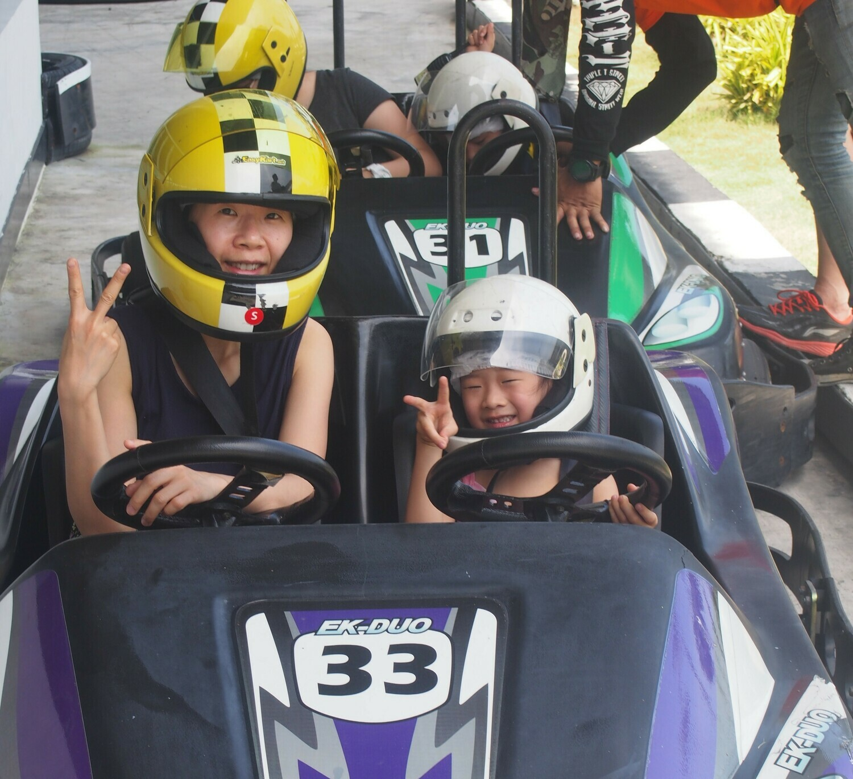 Pattaya 双座卡丁车 (1次) - 2 seater kart (1 race)