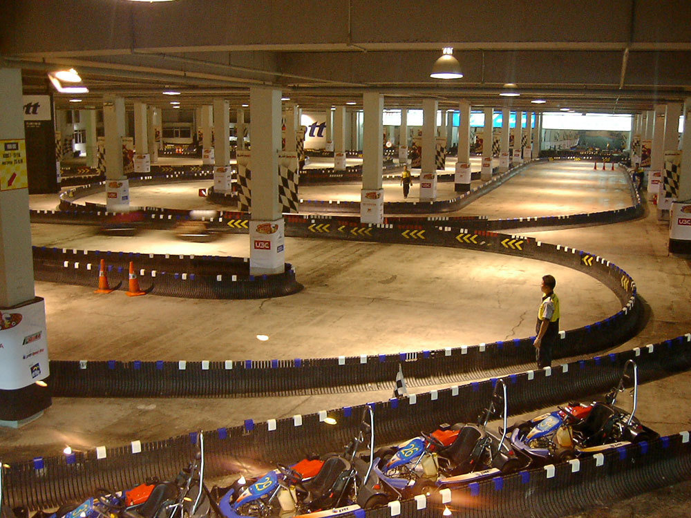 HOT DEAL! Go-Karting (4 races) + Flight of the Gibbon Zipline! (Bangkok)