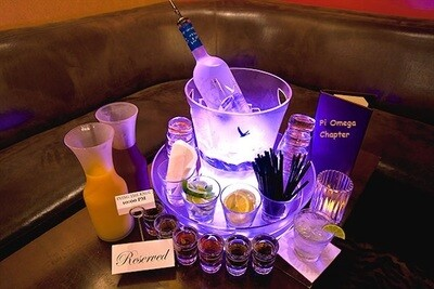 All Black and Purple Haze BOTTLE SERVICE Reservations