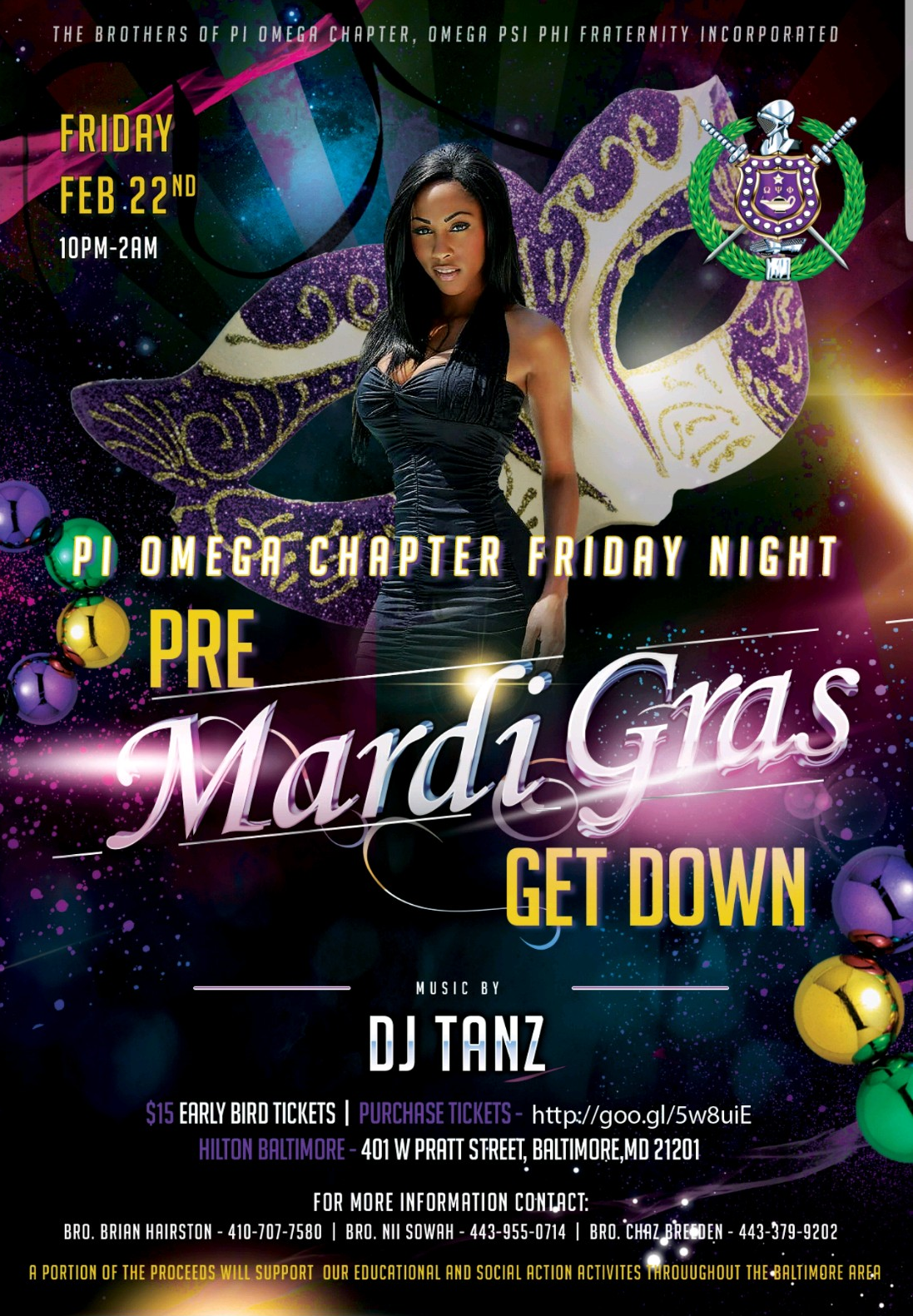 Pi Omega Friday Night Pre-Mardi Gras Party 00002