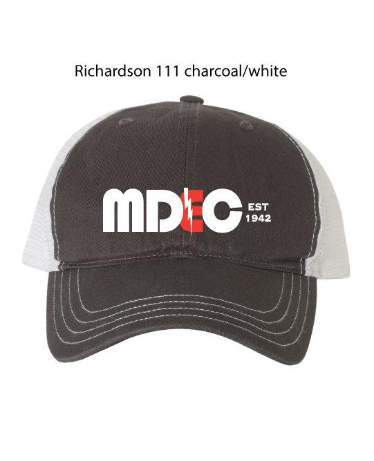 Richardson Gray/White (Non-Structured) -One Size