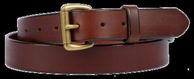 Buffalo Leather Belt, Brown