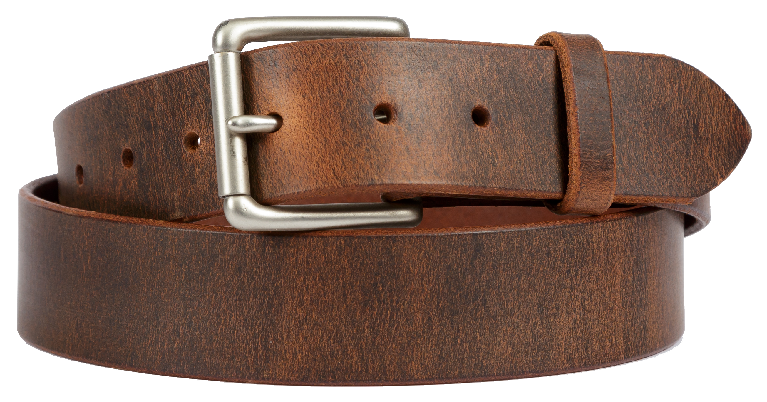 Distressed Leather Belt 112-06