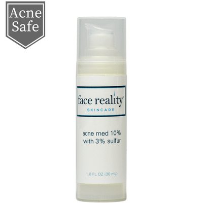 Face Reality Acne Med 10% with 3% Sulfur