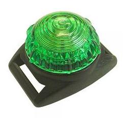 Adventure Lights Guardian Flashing LED Warning Light - Green