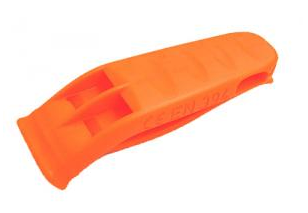Orange Safety Whistle
