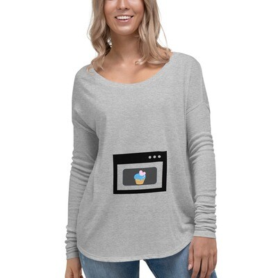 Maternity Ladies' Long Sleeve Tee