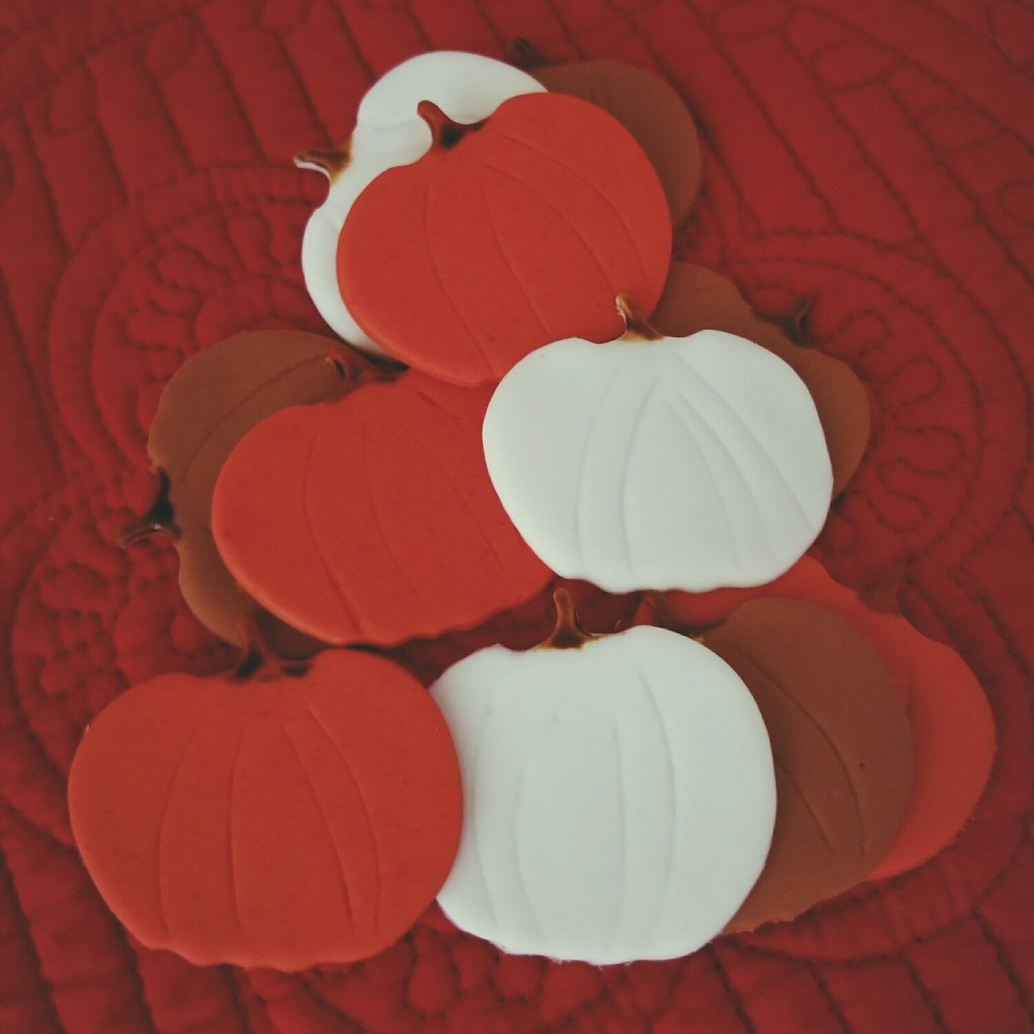 12 Bespoke Fall Cupcake Toppers! (Limited)