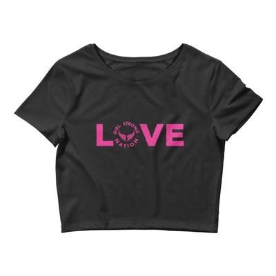 Love Women's Crop Tee