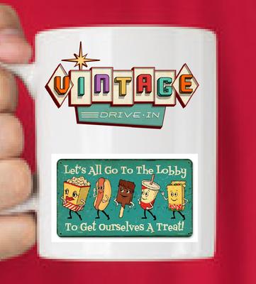 Vintage Drive-In Mug