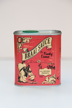 Funky Ouma-Braai Sauce TIN 250ml