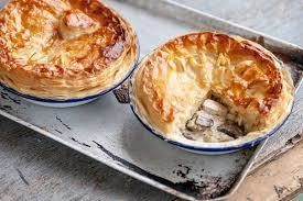 Pie - Two Small Chicken and Mushroom pies
