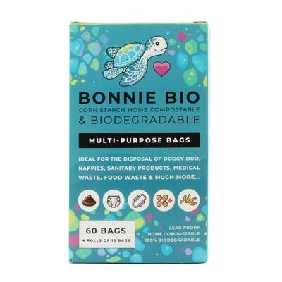 Multipurpose bags Compostable - 4 Rolls x 15