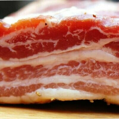 Bacon - Dry cured bacon STREAKY 190g- 210g