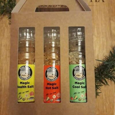 Salt - Magic Gift Pack Grinders - 200ml