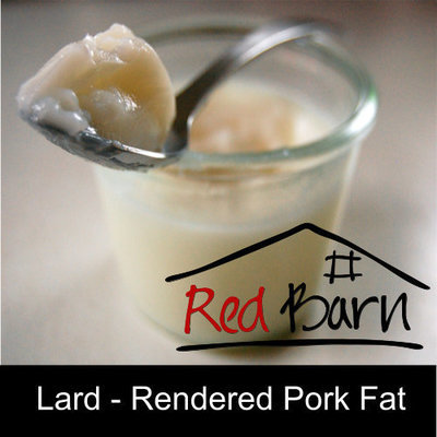 Lard rendered Pork fat - Free range 500g