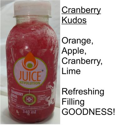 Juice Revolution - Cranberry Kudos