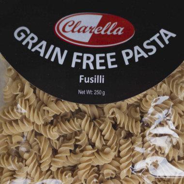 Clarella Grain free pasta- Fusilli