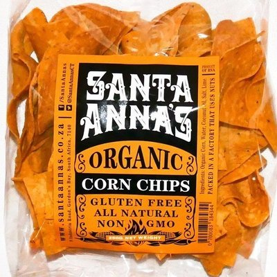 Corn Chips Organic 80g Snack Pack