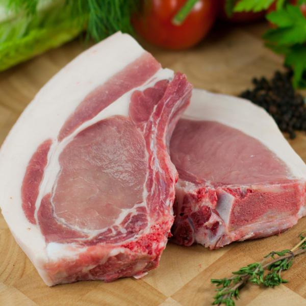 Pork Chops - Free Range approx 600g 100186