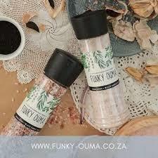 Funky Ouma-Black Garlic Salt 80g