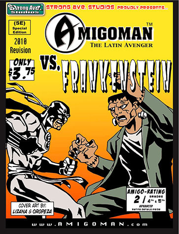AMIGOMAN vs. Frankenstein