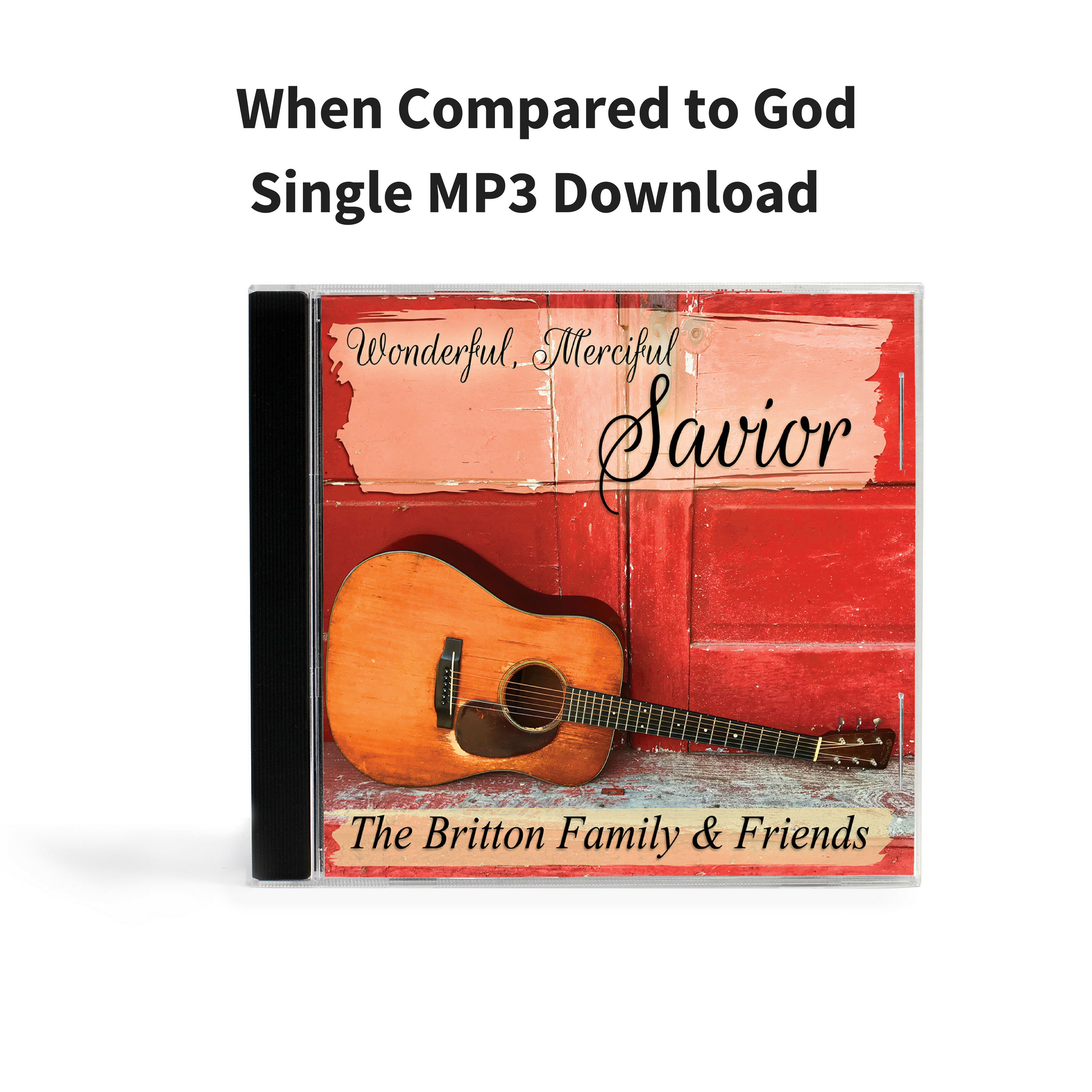 When Compared to God - Single MP3 Download 000009